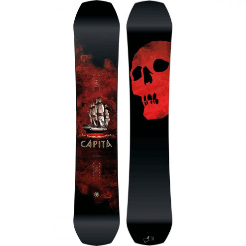 The Black Snowboard of Death